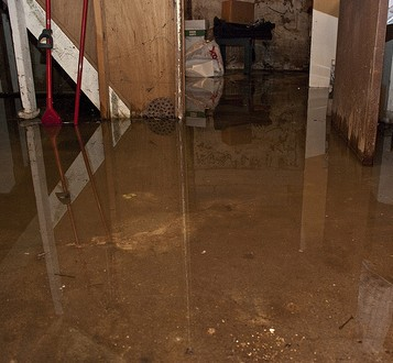 Basement Flooding water extraction